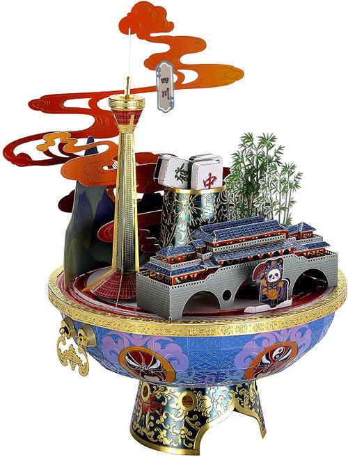 Sichuan Province China - Metal Model Kit   Microworld
