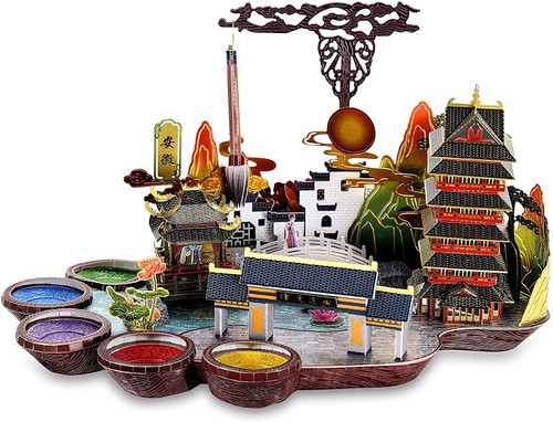 """Anhui Province, China"" Metal Model Kit   Microworld"