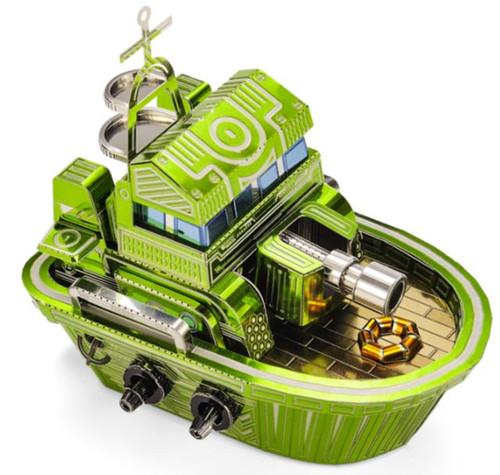 """Q Version Battleship"" Metal Model Kit | Microworld"