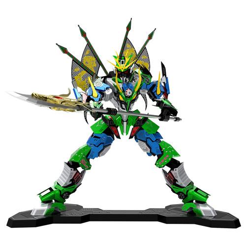 """Guan Yu Warrior"" Metal Model Kit | Microworld"
