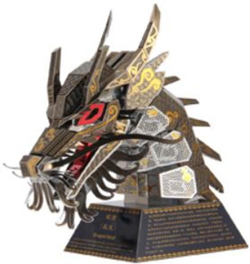 """Dragon"" *Zodiac Animal Heads Series* Metal Model Kit | Microworld"