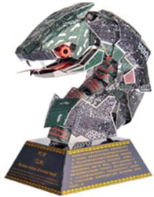 """Snake"" *Zodiac Animal Heads Series* Metal Model Kit | Microworld"