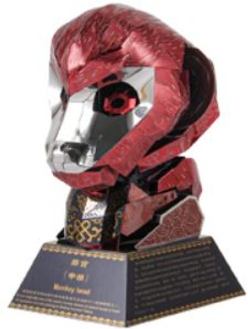 """Monkey"" *Zodiac Animal Heads Series* Metal Model Kit | Microworld"