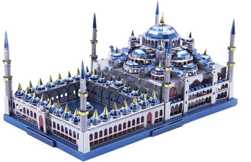 """""""Blue Mosque, Istanbul"""" Metal Model Kit 