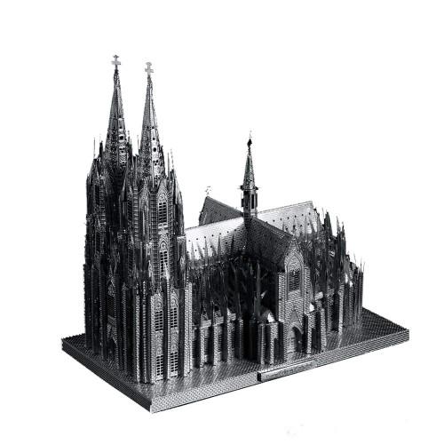 "[Köln] ""Cologne Cathedral"" Metal Model Kit | Microworld"