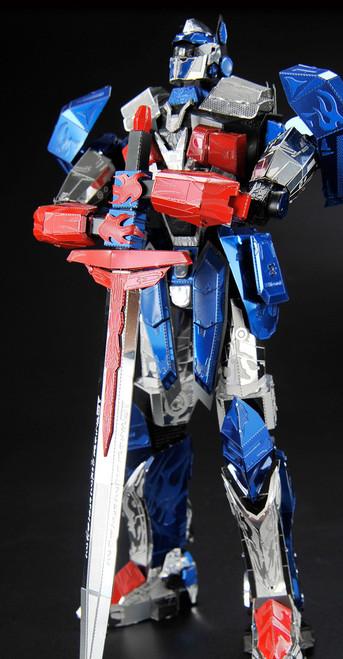 """Optimus Prime The Last Knight"" Metal Model Kit | Q008 | Microworld"