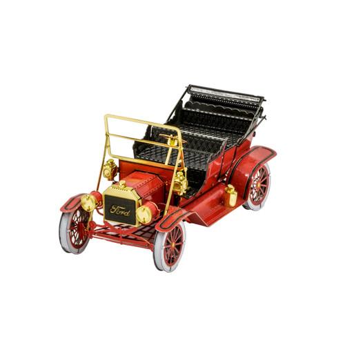 """1908 Ford Model T Red"" Metal Model Kit | Metal Earth"