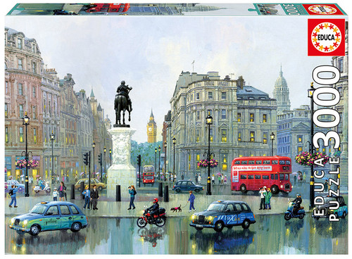 London Charing Cross, 3000 Pieces, Educa