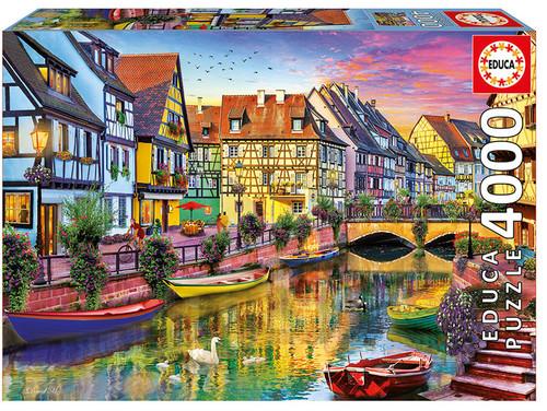 Colmar Canal, 4000 Pieces, Educa