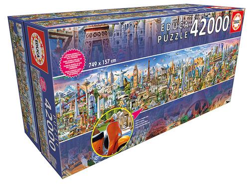 Around The World 42,000 Pieces, Educa