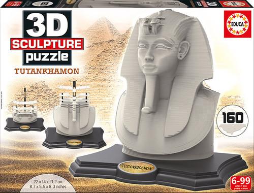 3D Tutankhamon Sculpture Puzzle, 160 Pieces, Educa