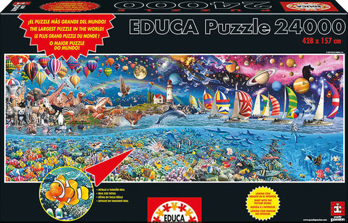 Life, The Great Challenge 24,000 Pieces Jigsaw Puzzle Educa Borras