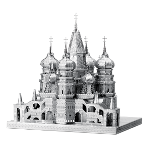 ICONX - St. Basil'S Cathedral Metal Model Kit