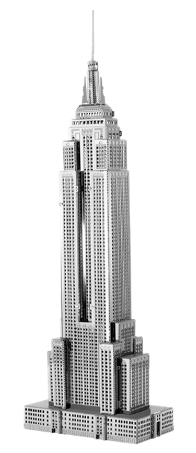 ICONX - Empire State Building Metal Model Kit
