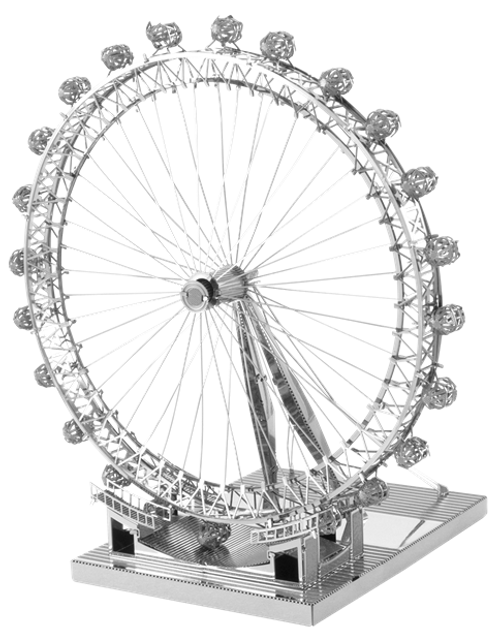 ICONX - London Eye Metal Model Kit