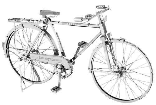 Classic Bicycle Metal Model Kit | Iconx
