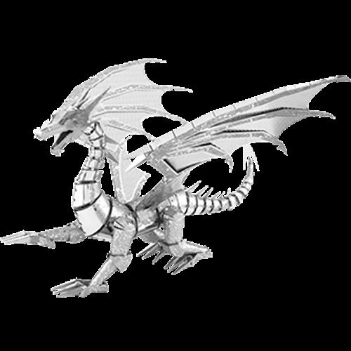 ICONX - Silver Dragon Metal Model Kit