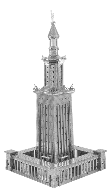 ICONX - Lighthouse of Alexandria Metal Model Kit