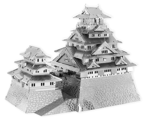 ICONX - Osaka Castle Metal Model Kit