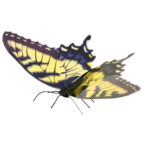 Butterfly Tiger Swallowtail Metal Earth Model Kit