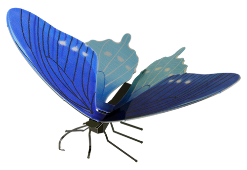 Butterfly Pipevine Swallowtail Metal Earth Model Kit