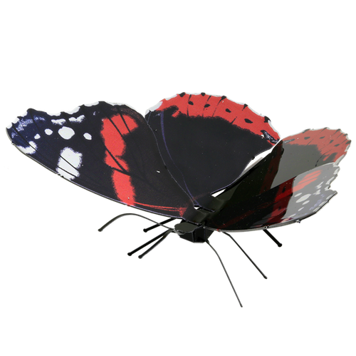 Butterfly Red Admiral Metal Earth Model Kit