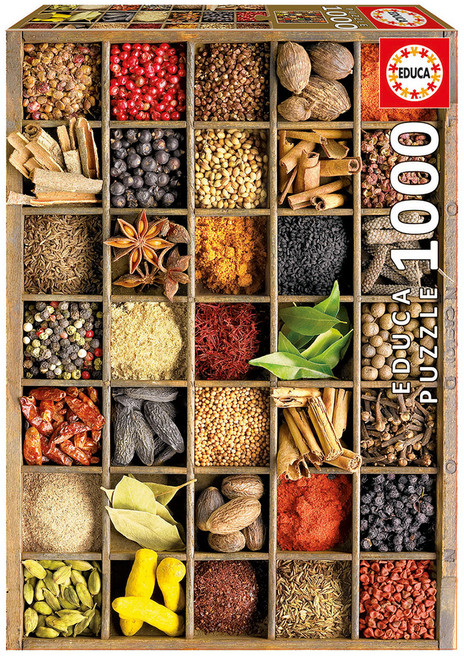 Spices, 1000 Pieces, Educa