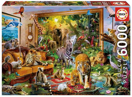 """Entering the Bedroom"" 6000 Piece Jigsaw Puzzle   Educa"