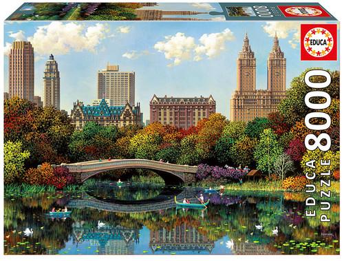 Central Park Bow Bridge, 8000 Pieces Educa Jigsaw Puzzle