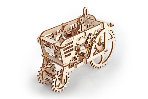 Tractor Mechanical Wooden Model | UGears