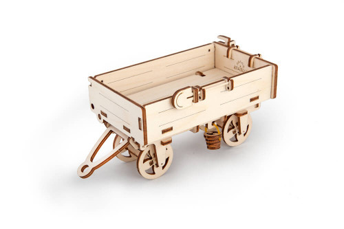 Tractor's Trailer Mechanical Wooden Model | UGears