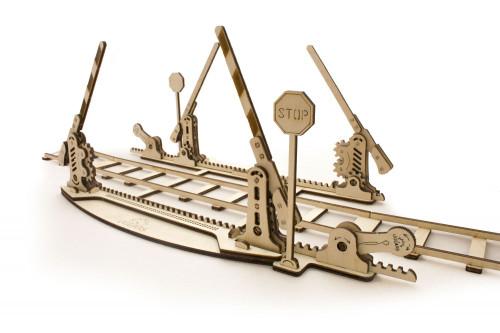 Set Of Rails Mechanical Wooden Model Rails | UGears