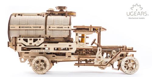 Tanker Truck Mechanical Wooden Model   UGears