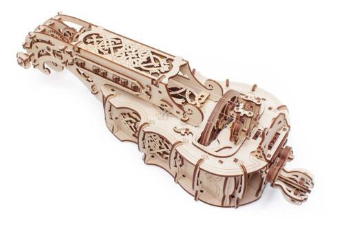 Hurdy Gurdy Mechanical Wooden Model Instrument | UGears