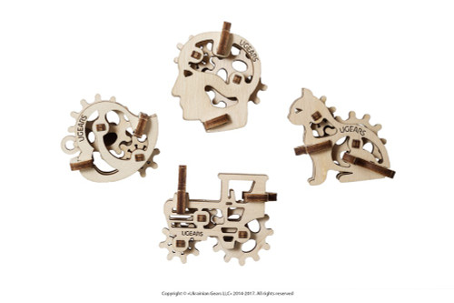 U-Fidget Tribiks Mechanical Wooden Model Fidget Toys | UGears