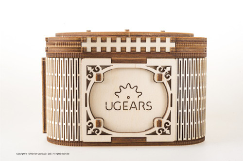 Treasure Box Mechanical Wooden Model Kit | UGears