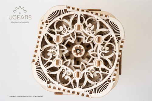 Treasure Box Mechanical Wooden Model Kit | UGears