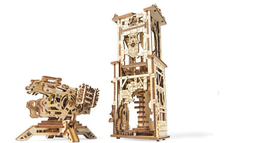 Archballista Tower Mechanical Wooden Model Kit | UGears