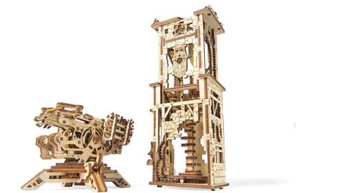 Archballista Tower Mechanical Wooden Model Kit | UGears