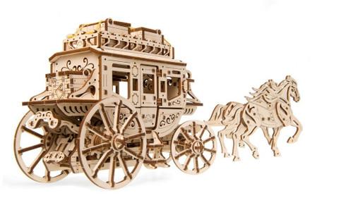 Stagecoach Mechanical Wooden Model | UGears
