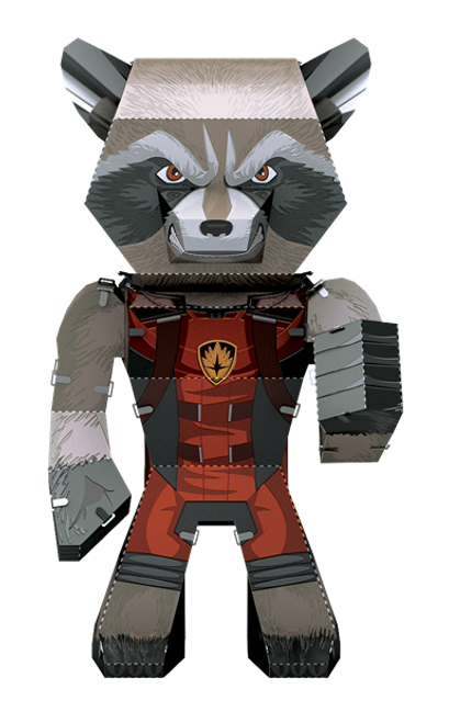 Metal Earth Guardians of the Galaxy - Rocket!