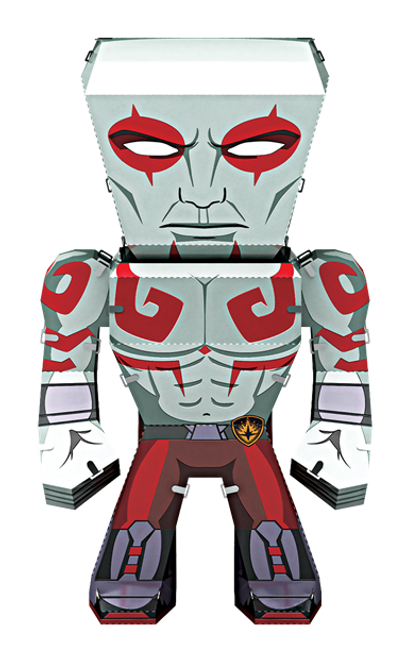Metal Earth Guardians of the Galaxy - Drax!