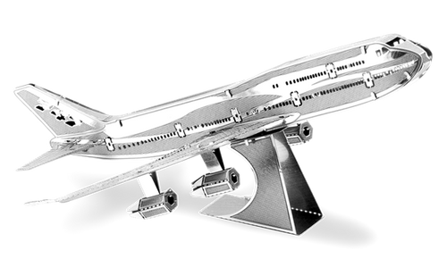 Metal Earth Boeing 747 Commercial Jet