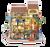 Emily's Flower Shop *Build-Your-Own* Dollhouse Kit | Rolife