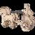 """Roman Chariot"" Mechanical Wooden Model Kit | Wooden City"