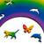 """Rainbow"" 380 Piece Wooden Jigsaw Puzzle *Maze Style Cut* | Nervous System"