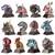 BUNDLE: *Zodiac Animal Heads Series* Metal Model Kits | Microworld