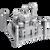 ICONX - Taj Mahal Metal Model Kit