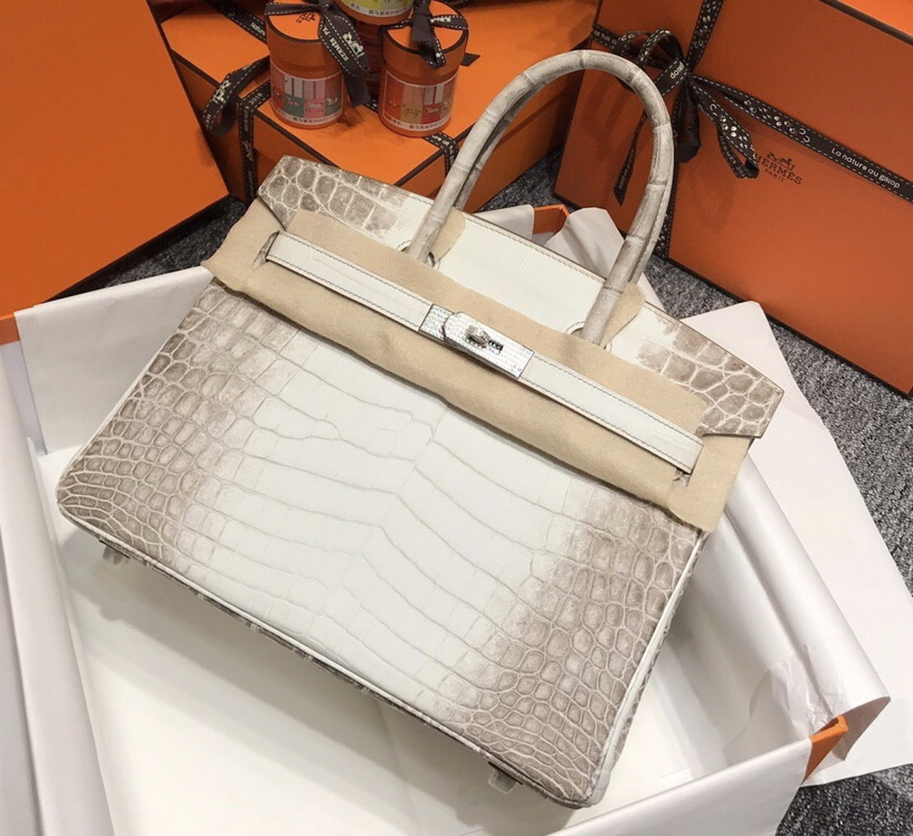Authentic Hermes Crocodile Bag