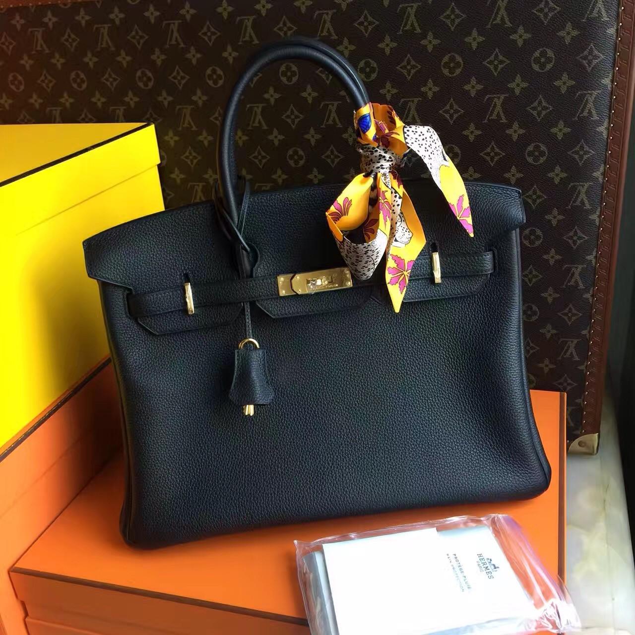 c223c9eec4 Hermès Birkin 35 cm Togo Leather Gold Hardware - Bella Vita Moda
